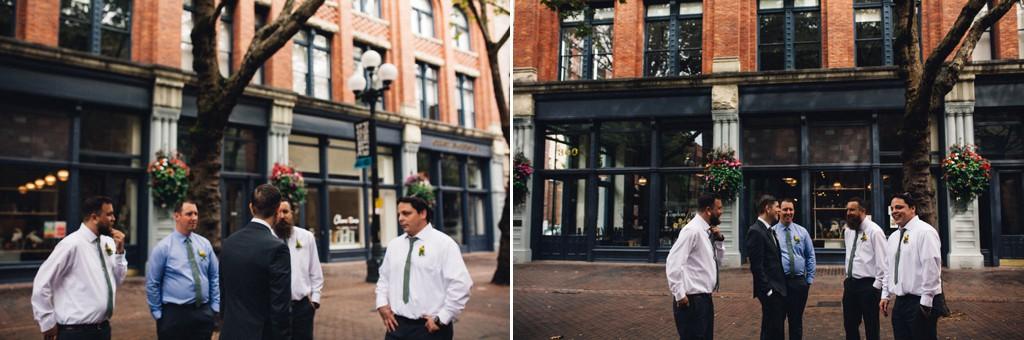 julia kinnunen photography, wedding, seattle, getting ready, axis pioneer square, urban wedding